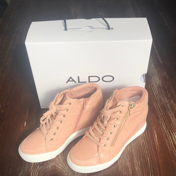 5ea83f947372 ⭐️BRAND NEW IN BOX⭐ Aldo Kaia Wedge Sneakers⭐️